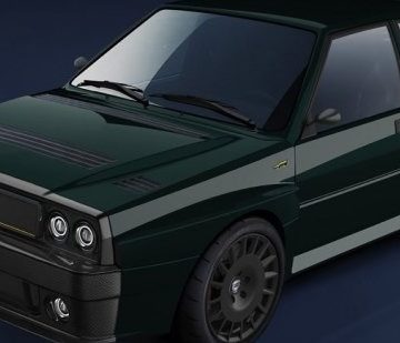 Итальянский коллекционер показал эскизы новой Lancia Delta Integrale