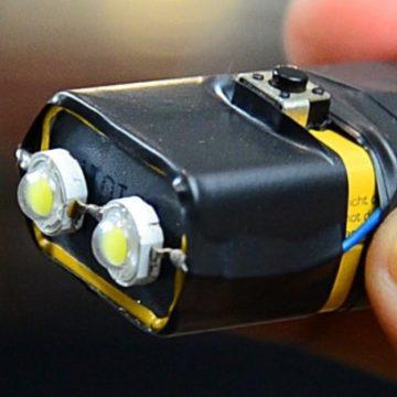 Светодиодный фонарик своими руками.