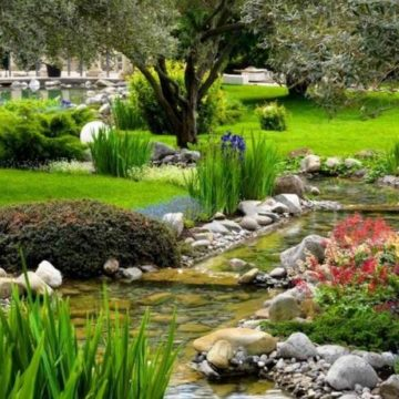 Вас ждут лучшие специалисты, которые разработают потрясающей красоты ландшафтный дизайн для вас
