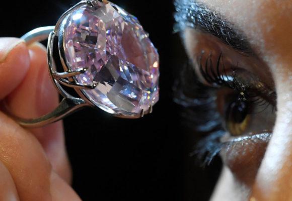 Rio Tinto выставляет на торги свой крупнейший розовый алмаз