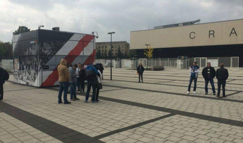 Матч Украина — Косово: в Кракове как дома