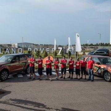 «Вокруг света за 70 дней с Land Rover»: финиш в Москве