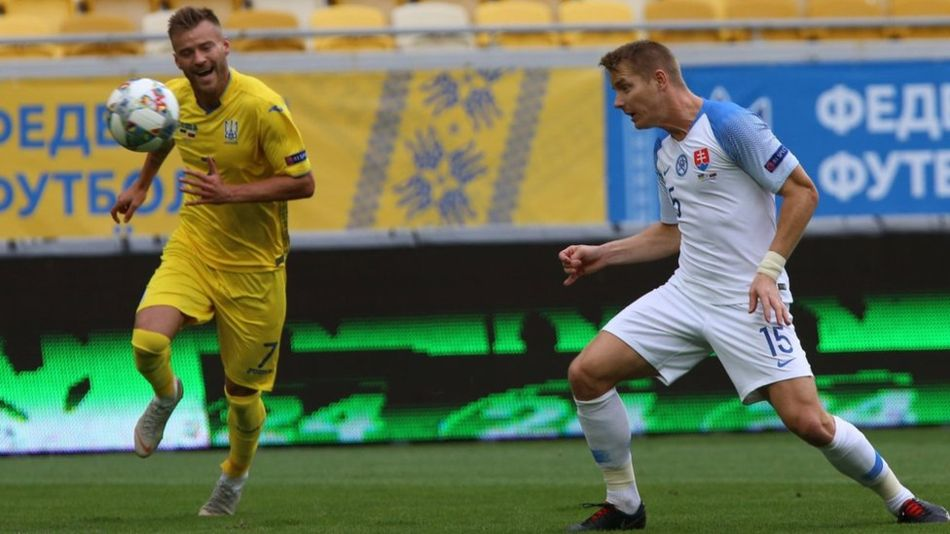 Лига наций: Украина победила Словакию