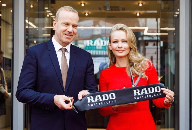 В Москве открылся новый бутик часового бренда Rado