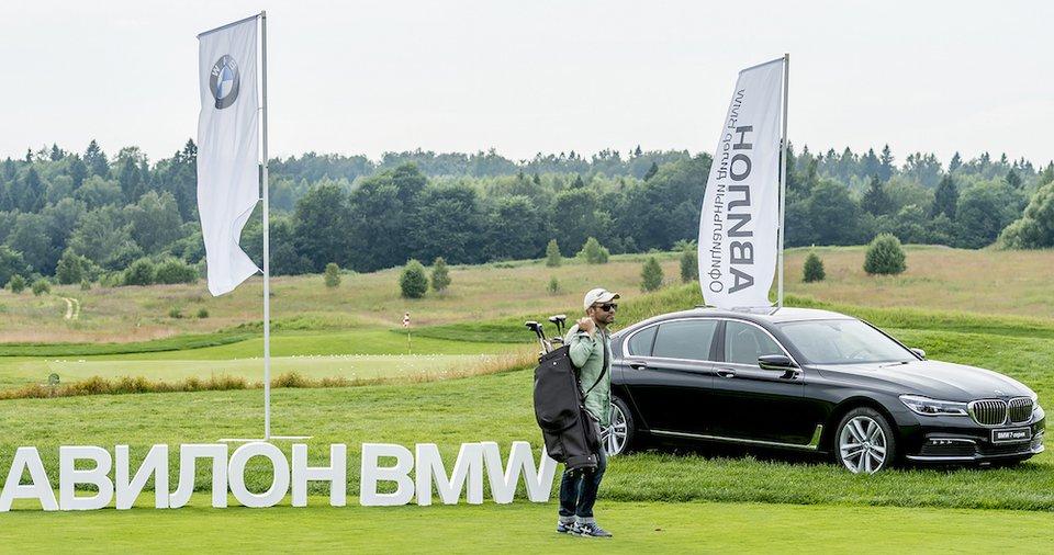 Турнир и светский вечер Golf & Jazz под рев моторов нового BMW X4