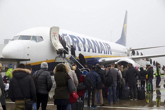 Ryanair отменил 150 рейсов из-за забастовки в Германии