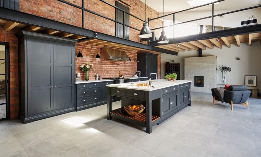 Кухня в стиле лофт: сочетание стиля и практичности