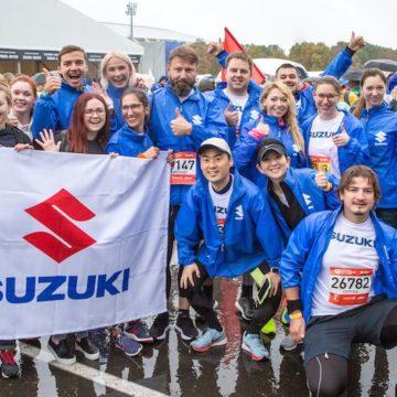 Suzuki Team на Московском марафоне—2018