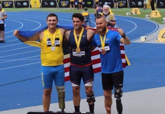 Украина завоевала уже 12 медалей на Играх непокоренных