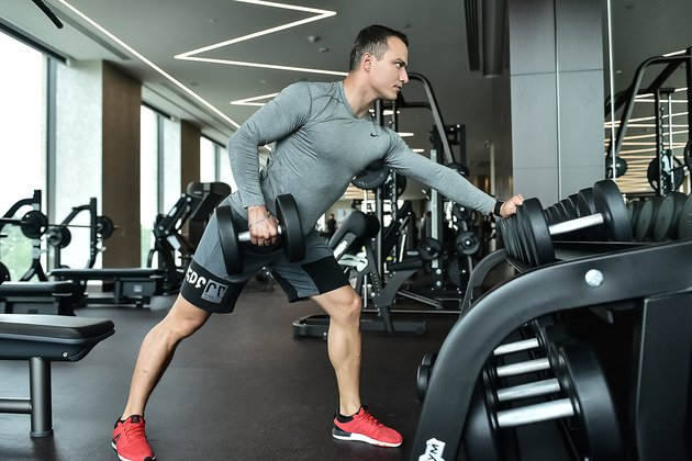 Сильная половина: тренировки для мужчин в клубе Olympus Fitness & Spa