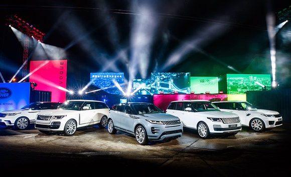 Мировая премьера нового Range Rover Evoque в Лондоне