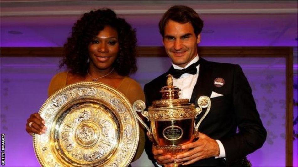 Серена Уильямс и Роджер Федерер впервые сыграют друг против друга