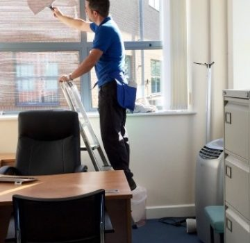 Качественная уборка в офисе