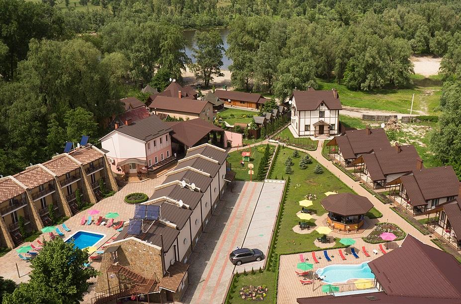 Гостинично ресторанный комплекс под Киевом «Equides Club»
