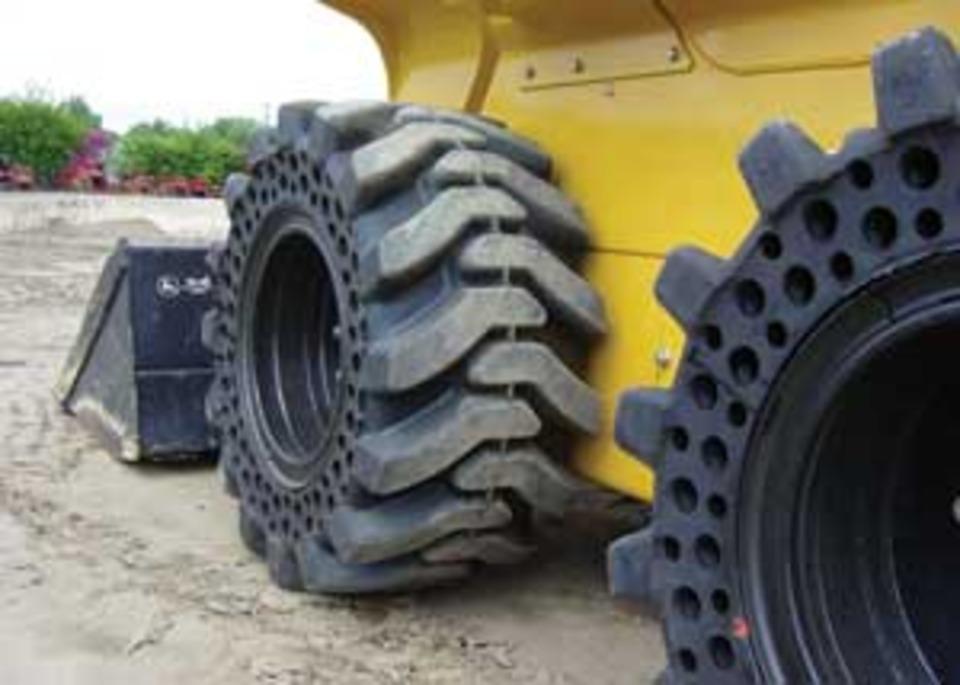 Пневматические шины для погрузчиков: особенности и достоинства