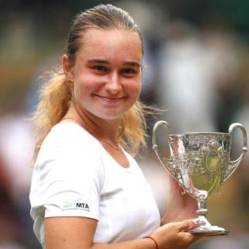 Украинская теннисистка Дарья Снигур победила на Уимблдоне для юниоров