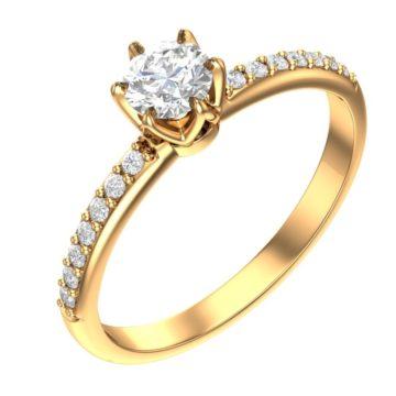 Кольца с бриллиантами «Centrumix»