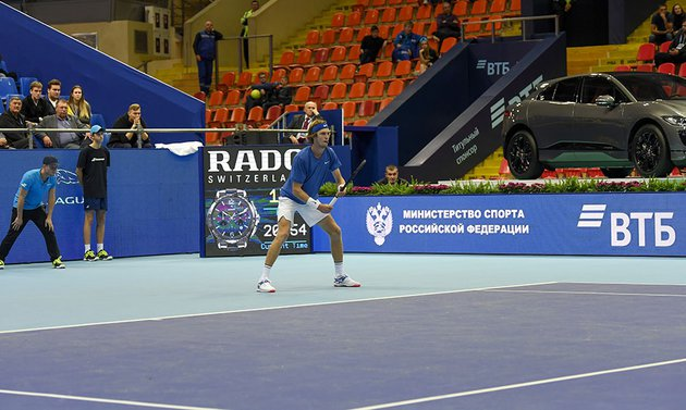 Теннисист Андрей Рублев одержал победу в турнире «ВТБ Кубок Кремля»
