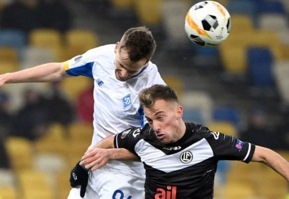 «Динамо» вылетело из Лиги Европы