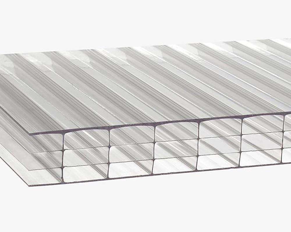 Сотовый поликарбонат стал заменять другие стройматериалы