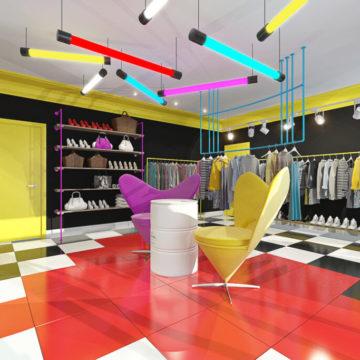 Заказ дизайна магазина в Харькове