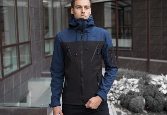 Спортивные куртки и ветровки из ткани софтшелл