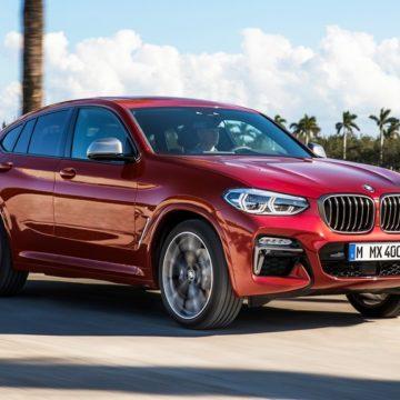 BMW X4 — и большой, и тонкий