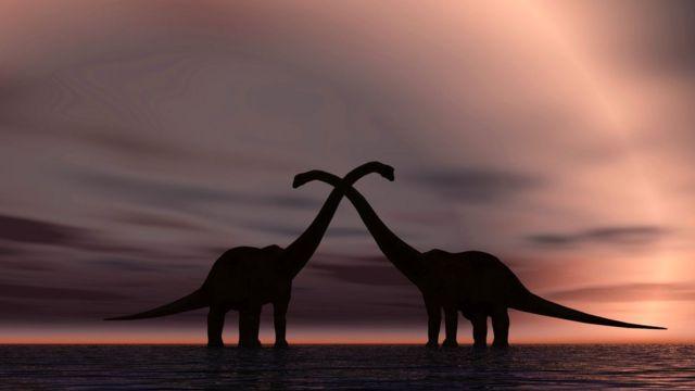Как динозавры занимались сексом