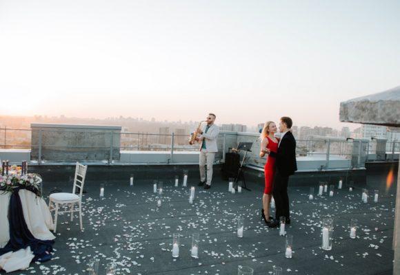 Как проходит свидание на крыше